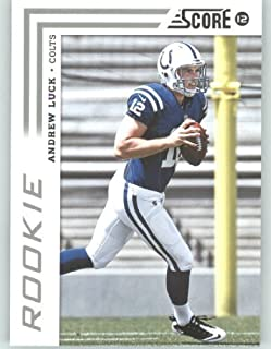 2012 Score Football Card #304 Andrew Luck RC - Indianapolis Colts (RC - Rookie Card)(NFL Trading Card)