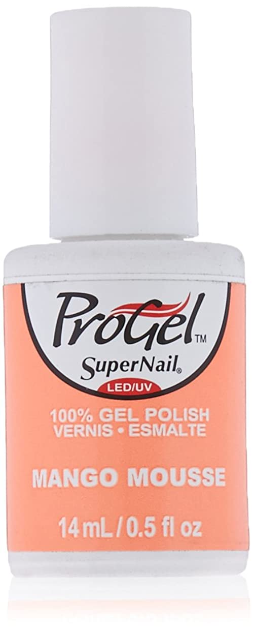 持参保安残るSuperNail ProGel Gel Polish - Mango Mousse - 0.5oz / 14ml