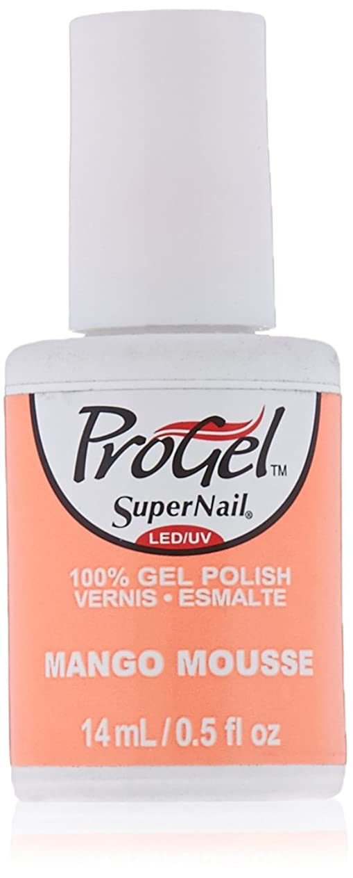 ますますいたずら減衰SuperNail ProGel Gel Polish - Mango Mousse - 0.5oz / 14ml