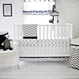 My Baby Sam Out of The Blue 3pc Crib Set