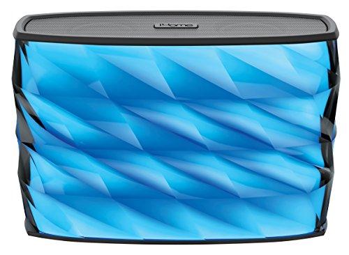 iHome iBT85 Spritzwassergeschützter Bluetooth Lautsprecher mit Freisprechfunktionund Farbwechsel Modus