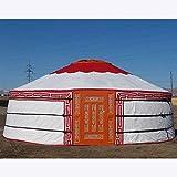 PENG Diámetro 3.5m Tienda de yurta mongola Tienda turística al Aire Libre Tienda nómada Tienda Personalizada