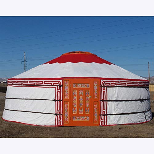PENG Durchmesser 3,5 m Mongolisches Jurtenzelt Touristenzelt im Freien Nomadisches Zelt Zelt