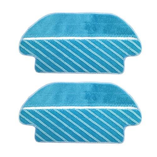 Almohadilla De Aspiradora Paños de 2pcs MOP Compatible con CECOTEC CONGA 3290 3490 3690 Series Piezas de aspiradora de la serie Limpieza de los accesorios de la plancha del trapezo Aspiradora Tela tra