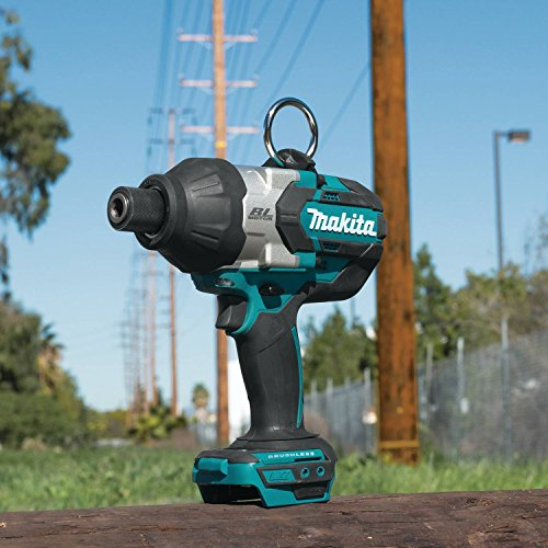 Makita XWT09Z LXT Lithium-Ion Brushless Cordless High Torque Hex Impact Wrench, 18V/7/16