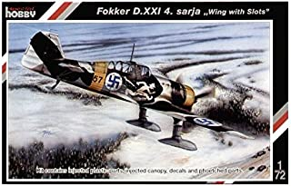 Special Hobby Fokker D XXI 4 Sarja Wing with Slots Fighter Airplane Model Kit (1/72 Scale)