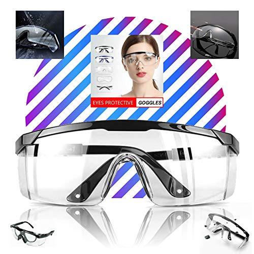 LogicaShop - Juego de Gafas Protectoras Sanitarias Virus para Mujer con Certificado CE, Protección...