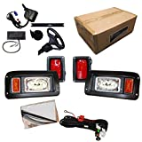 Performance Plus Carts Club Car DS Golf Cart All LED Deluxe Street...