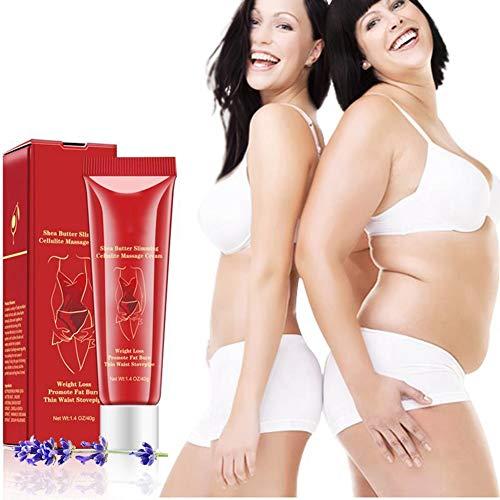 Abnehmen Anti Cellulite Massagecreme Körperfettverbrennung Gel Körperpflege Gewichtsverlust Creme für Oberschenkel, Beine, Bauch, Arme