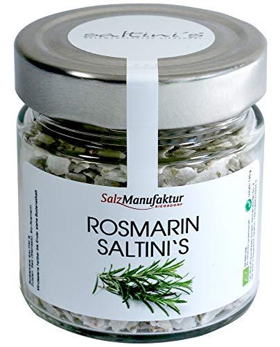 Saltini's verschiedene Sorten im 130g Nachfüllglas (Rosmarin)