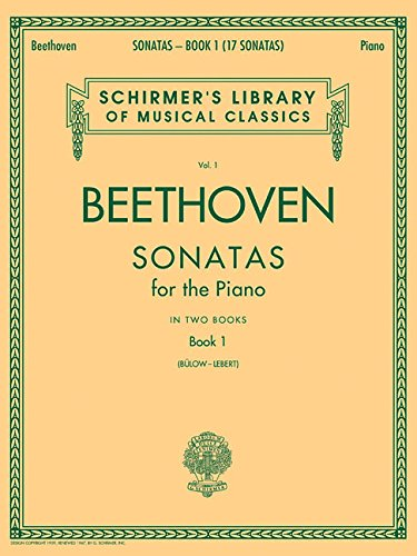 Sonatas - Book 1: Schirmer Library of Classics Vol. 1 (Schirmer's Library of Musical Classics)