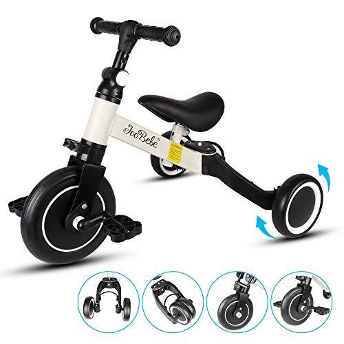 DesignSter Draisienne, Tricycle Evolutif avec Guidon Et SièGe Réglables, Draisienne Evolutive pour...