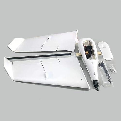Heaviesk pour ZOHD SonicModell F1 833mm PPE Envergure RC FPV Avion à voilure Fixe Planeur Drone Avion Modèle avec 190 km   h Version KIT Haute Vitesse