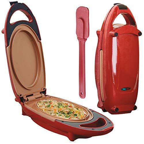 Ceramic Omelette Maker, Non Stick Copper Infused Quick Cook Plates, Healthy...