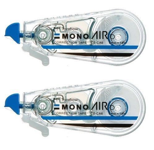 【トンボ鉛筆】MONO AIR 修正テープ モノエアー6 2個パック (スタンダード)