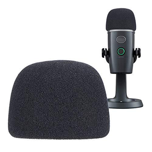 Espuma Paraviento Micrófono Parabrisas para Blue Yeti Nano Condenser Micrófono como Pantallas y filtros anti-pop por YOUSHARES