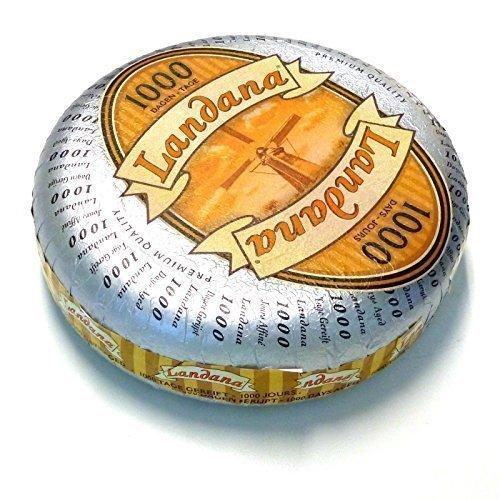 Landana 1000 Día Queso Gouda uralt Desmorona el queso con Cristales de sal 1kg
