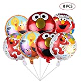 Elmo Sesame Foil Balloons Party Supplier Elmo Balloons for Kids Baby Shower Birthday Party Decorations