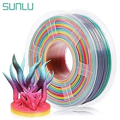SUNLU ABS Filament 1.75mm for 3D Printer ABS 3D Printer Filament Accuracy +/- 0.02 mm