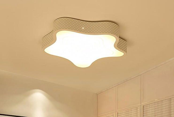 Plafonniers liwenlong Lampe de plafond LED Chambre salon chambre enfants, éclairage 40CM trois couleurs la gradation