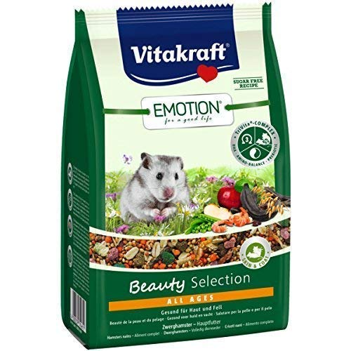 Vitakraft Emotion Beauty All Ages, Zwerghamster - 300g