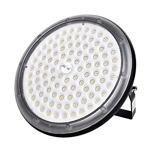 LED Projecteur UFO ultra-mince Lampe Industriel LED 150W 15000LM Extérieur Spot Phare de Travail Étanche IP65 pour extérieur stade intérieur place panneaux d'affichage usine entrepôt