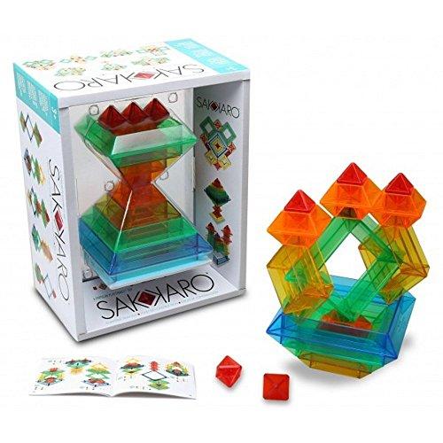 POPULAR PLAYTHINGS Sakkaro Geometry Toy, Multicolor, Standard