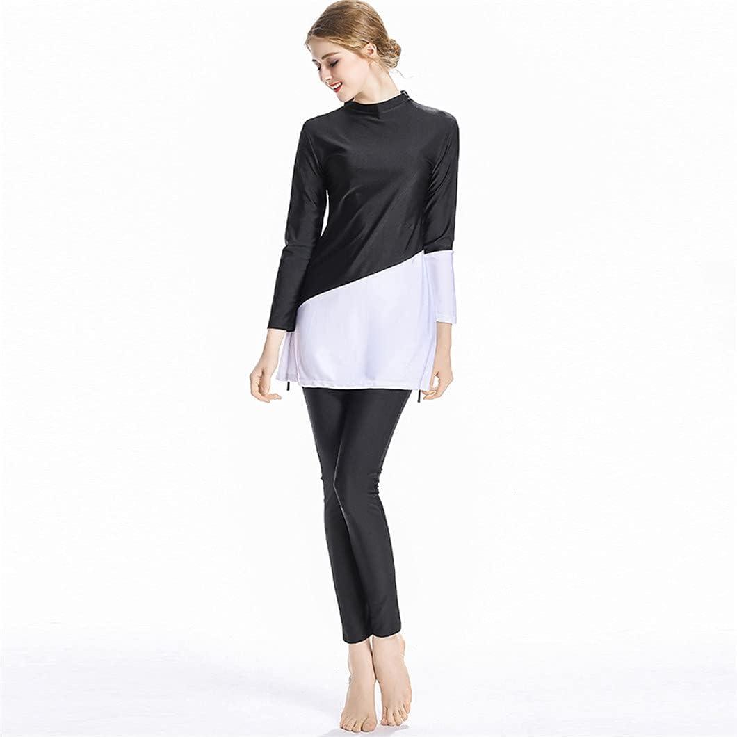 Muslim Burkini Long Sleeve Swimwear Complete Free Shipping Women Indianapolis Mall Pants Tops Swimsuit +