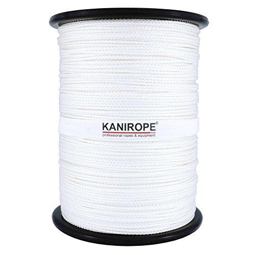 Kanirope® Nylonseil Polyamidseil Seil NYLONBRAID 2mm 500m 8-fach geflochten