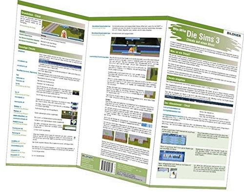Die Sims 3 - Die wichtigsten Cheats auf einen Blick! (Wo&Wie / Die schnelle Hilfe)