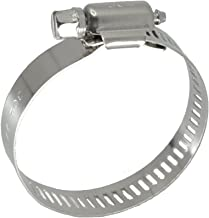 XRPAOWA Hose Clamp, 304 Stainless Steel Clamps, 10 pcs/Pack, SAE 32 Worm Gear Hose Clamps, 1-9/16-Inch-2-1/2-Inch(40-63mm) (SAE 32)