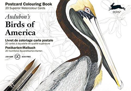 Audubon: Birds of America: Postcard Colouring Book (Multilingual Edition) (English and German Edition)