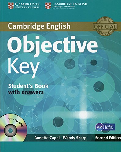 Objective Key 2nd Student's Book with Answers with CD-ROM
