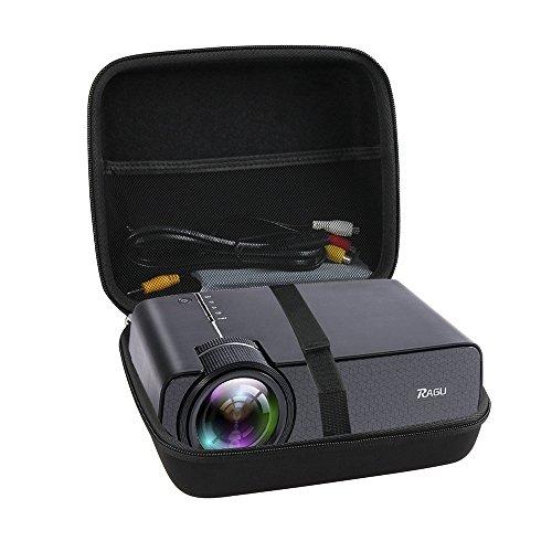 Hermitshell Hard Travel Case Fits Ragu Z400 1600 Lumens Mini Portable Projector