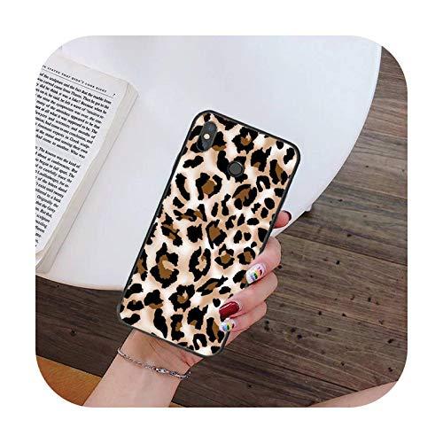 Hopereo Moda Sexy Leopard Print Panther teléfono caso para Xiaomi para Redmi 4X 5Plus 6A 7 7A 8 8A para Redmi Note 4 5 7 8 9 Nota 8T 8Pro 9Pro-A2-Para Redmi Note4