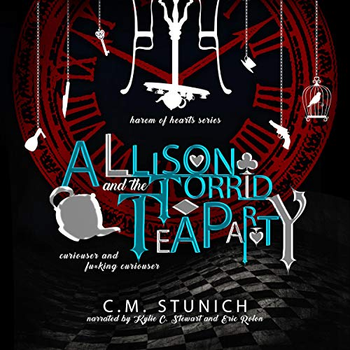 Allison and the Torrid Tea Party audiobook cover art