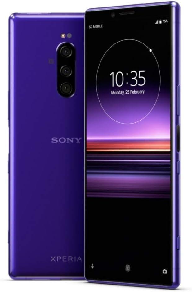 Sony Xperia 1 Ranking TOP4 J9110 128GB 6GB Version RAM Purple International - Arlington Mall