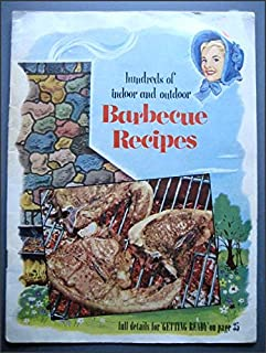 1951 Vintage Barbecue Book Good Housekeeping's Barbecue Cookbook