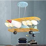 WLG LAMP Lustre rétro chambre oeil hélicoptère lustre garçon chambre...