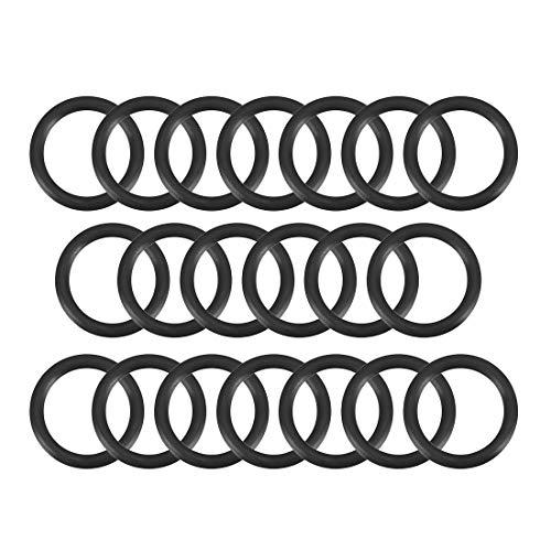 sourcing map 20stk. O-Ring Nitrilkautschuk Nitrilgummi Dichtungsringe Gummi 11mm x 15mm x 2mm DE de
