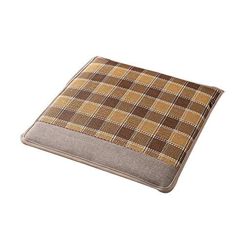 ZIYI Cojines para taburetes de Cocina,cojin de Silla,cómodos y no se deforman fácilmente,adecuados para sillas de Oficina,Cojines para sofás,Cojines para sillas de Comedor (40 * 40 cm)