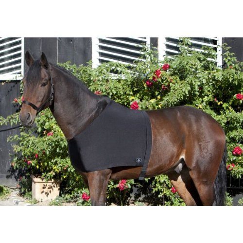 PFIFF 002067 Pferde Brustunterziehdecke, Unterziehdecke Brustdecke, Full Warmblut