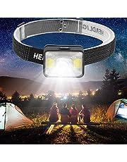 Koplamp, campingkoplamp, ABS-materiaal rood wit licht voor jagen, kamperen, wandelen
