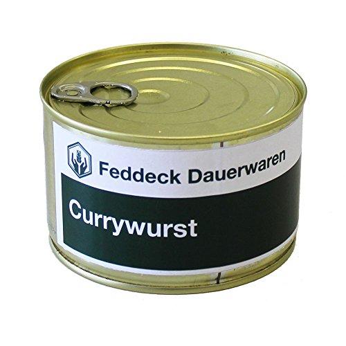 Fertiggericht Currywurst in der Dose 400 Gramm