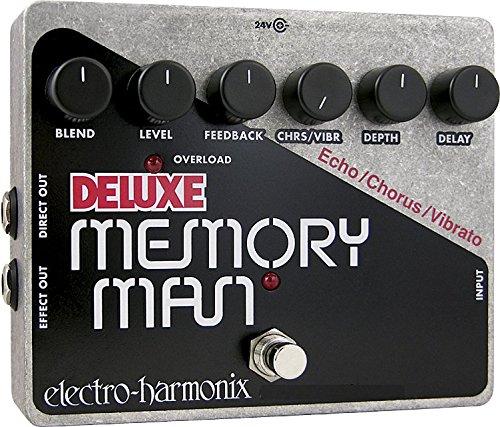 Electro-Harmonix Deluxe Memory Man Analogue Delay Pedal XO