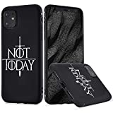 LuGeKe Sword Phone Case Cover for iPhone 7 Plus/iPhone 8 Plus Words Printed Phone Cover Shell Frame for Apple iPhone Anti-Scratch and Comfortable