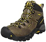 Keen Utility Pittsburgh Steel Toe - Scarpe da lavoro da uomo, colore: Nero