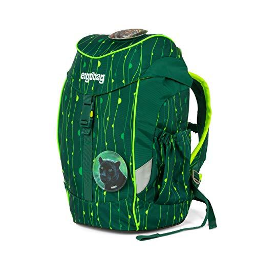 ergobag mini - ergonomischer Kinderrucksack, DIN A4, 10 Liter - RambazamBär - Grün