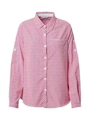 Craghoppers NosiLife Verona II Langarmshirt Damen Winter Rose Größe EU 38 2020 Outdoor Shirt