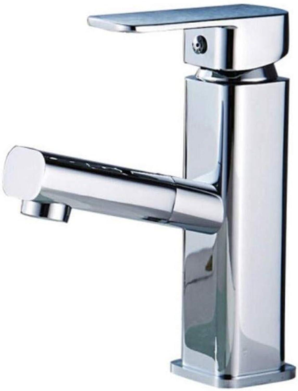 Wasserhahn Küche Bad Garten Spültischarmaturen Badarmaturen Kalt-Hei-Einloch-Waschtischarmatur Ctzl6820